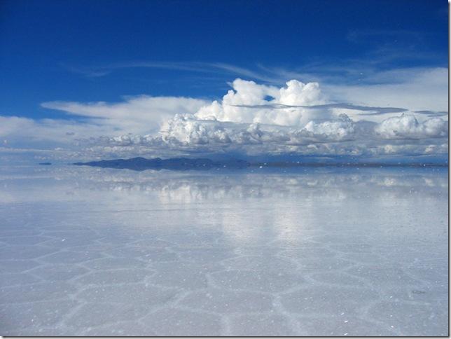 Соленое озеро Боливия