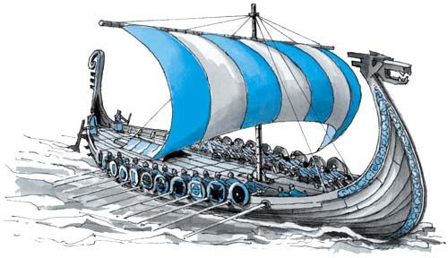 Какие корабли строили скандинавы? | Любознатель  Скандинавы Викинги